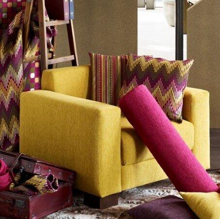 Möbelstoffe - Textilien - Tapezierer Höglinger